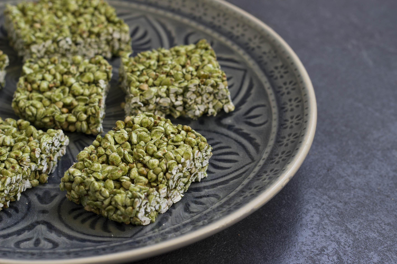 Matcha Bites mit Buchweizen
