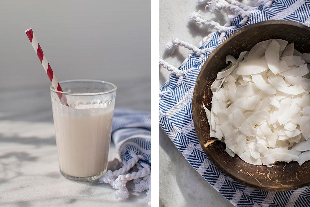 pflanzenmilch selber machen kokosmilch