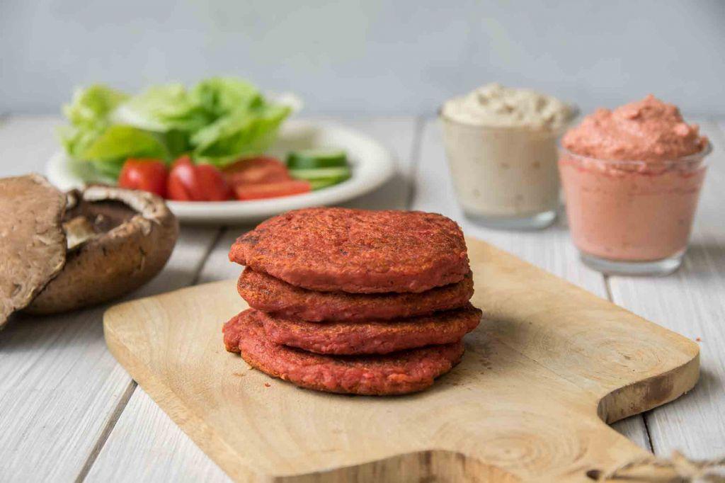 vegan + glutenfrei burger Rezept